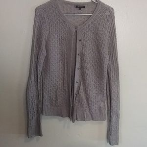 Ann Klein button down cardigan